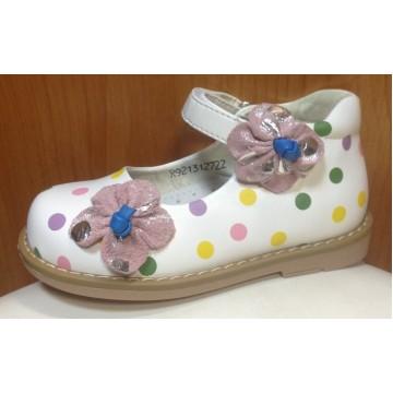 Туфли для девочек Сказка 12722