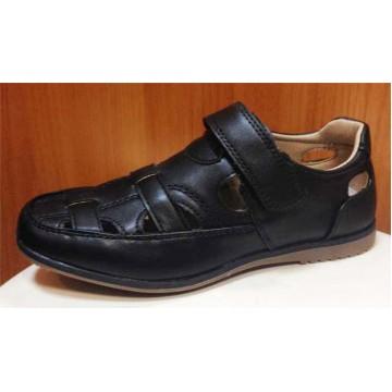 Школьные открытые ботинки для мальчиков Том и Мики 1303