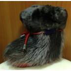 Зимние сапожки-пинетки нутрия/овчина П12