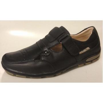 Школьные открытые ботинки Колобок 6416
