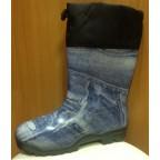 Резиновые сапоги 264 РУ синий джинс