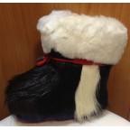 Зимние сапожки-пинетки нутрия/овчина П2