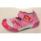 Туфли текстильные 14-0039 розовые