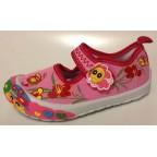 Туфли текстильные 14-5969 розовые
