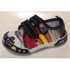 Туфли текстильные 14-710 черные